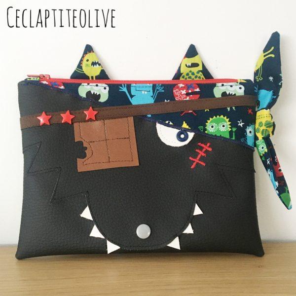 Leo-pirate-croque-choco-trousse-feutres-ceclaptiteolive-couture-création-vendée-atelier-tutoriel