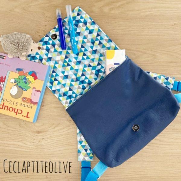 cartable-sac a dos-iseult-ceclaptiteolive-couture-création-vendée-atelier-tutoriel